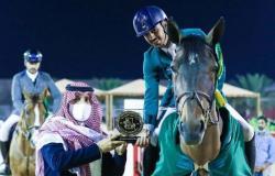رئيس اتحاد الفروسية يتوج الفائزين في ثاني أيام كأس الأولمبية السعودية