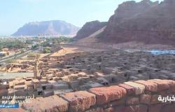 شاهد بالفيديو .. بلدة العلا القديمة شهدت حضارات اللحيانية والنبطية والإسلامية