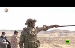 """المرحلة الرئيسية للمناورات العربية  """"سيف العرب"""""""