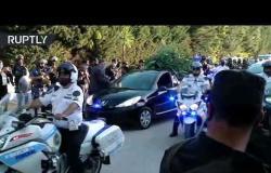 وصول نعش مارادونا إلى مقبرة في بوينس آيرس