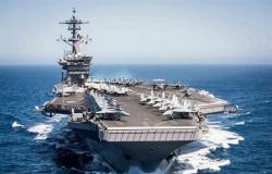 مسؤول بالبنتاجون: تحريك حاملة الطائرات إلى منطقة الخليج رسالة ردع لإيران