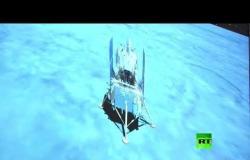 هبوط مركبة الفضاء الصينية على سطح القمر