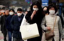 كوريا الجنوبية.. تراجع طفيف في إصابات فيروس كورونا اليوم