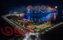 رأس الخيمة تبعث رسالة الأمل والإنجاز بإطلاق أحد أكبر عروض الألعاب النارية في العالم احتفالاً بالعام الجديد