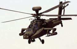 """سقوط """"أباتشي"""" أمريكية في منطقة الشدادي شرقي سوريا"""