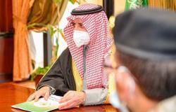 أمير منطقة تبوك يترأس اجتماع لجنة الدفاع المدني الرئيسية بالمنطقة