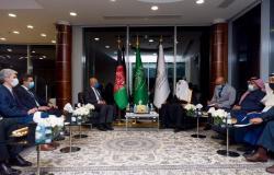 """""""العيسى"""" يستعرض مع وزير خارجية أفغانستان سُبل التعاون الثنائي"""