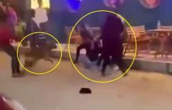 فيديو صادم.. صراخ وإغماء فتيات في واقعة تحرش بمصر
