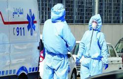 تسجيل 870 اصابة بفيروس كورونا و 14 وفاة في الاردن