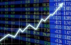 """مؤشر """"الأسهم السعودية"""" يُغلق منخفضاً عند 8784.12 نقطة"""