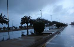 """""""الوطني للأرصاد"""": أمطار رعدية على محافظتي بدر وينبع"""