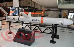 """""""هالكن"""" تكشف النقاب عن أول صاروخ كروز مضاد للسفن في آيدكس 2021"""