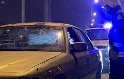"""مدني عسير: إصابة طفل ومواطن في تناثر شظايا اعتراض طائرات مسيَّرة أطلقتها """"الحوثي"""""""