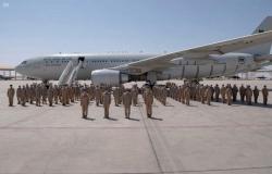 """وصول مجموعة القوات الجوية السعودية المشاركة في مناورات """"علم الصحراء 2021"""" بالإمارات"""