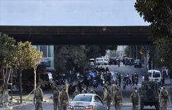 مئات يحتجون على سوء الأوضاع المعيشية في لبنان لليوم الرابع .. بالفيديو
