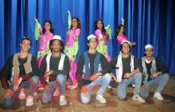 طلاب معهد  الفنون الشعبية يشاركون في فاعليات بورسعيد عاصمة الثقافة المصرية