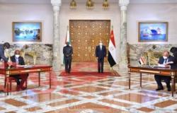 الرئيس السيسي يشهد مع نظيره البوروندي توقيع مذكرات تفاهم