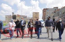 محافظ دمياط تتفقد الموقف التنفيذي للمشروعات المدرجة بخطة المحافظة