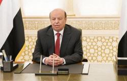 الرئيس اليمني: هناك تضحيات كبيرة لمنع نقل التجربة الإيرانية التي يرفضها الشعب
