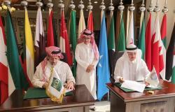 """""""آل فهيد"""" يرعى مذكرة تفاهم مع """"تنمية القطاع الخاص"""" لدعم السياحة العربية"""