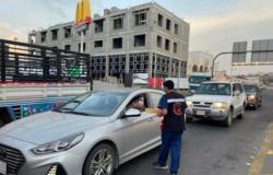 """""""هلال الباحة"""" يوزع 400 وجبة إفطار صائم"""