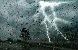 هطولأمطارمتفرقة من متوسطةإلىخفيفة على منطقة الباحة