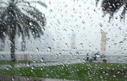 """هطول أمطار على مراكز وقرى شرق ينبع.. و""""المدني"""" يحذر"""