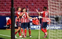 تفوق على ريال مدريد بـ 3 نقاط ..أتلتيكو يعتلي صدارة الدوري الإسباني