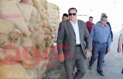 وكيل وزارة الزراعة بدمياط يتفقد مقار استقبال الأقماح المحلية