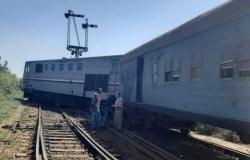 خروج قطار مصري جديد عن القضبان.. ولا خسائر