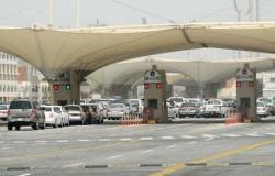 """العميد """"النفيعي"""" يقف على جاهزية واستعدادات جوازات جسر الملك فهد"""