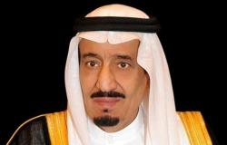 خادم الحرمين الشريفين يتلقى تهنئة بعيد الفطر المبارك من أمير الكويت