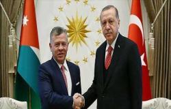 الملك و أردوغان يبحثان مواصلة التنسيق لوضع حد للاعتداءات الإسرائيلية في القدس