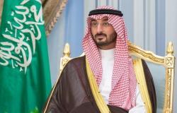 وزير الحرس الوطني يهنئ القيادة ومنسوبي وزارته بحلول عيد الفطر المبارك