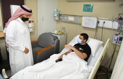 """""""الخدمات الطبية بالداخلية"""" تعايد المرضى المنومين بمستشفيات قوى الأمن"""