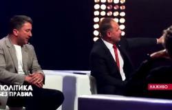 بالفيديو.. مضاربة باللكمات بين سياسيين في برنامج تلفزيوني