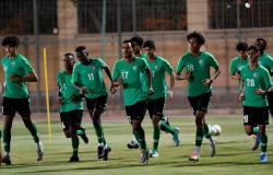 الأخضر يجري أولى تدريباته بمعسكر الرياض تحضيراً لكأس آسيا