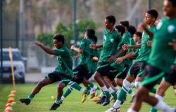 الأخضر تحت 17 عاماً يواصل تدريباته في معسكر جدة تحضيراً لكأس آسيا
