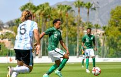 الأولمبي السعودي يخسر ودية الأرجنتين