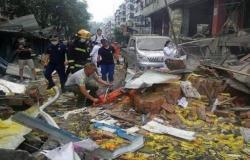 مصرع 11 وإصابة 37 إثر انفجار ناجم عن تسرُّب غاز بوسط الصين