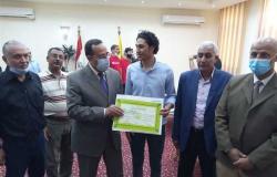 محافظ شمال سيناء يكرم ذوى الإعاقة الفائزين في كأس مصر لألعاب القوى