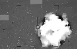 بالفيديو .. قيادة القوات المشتركة للتحالف تعرض لقطات لتدمير وإسقاط طائرات الميليشيا الحوثية