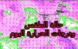 حالة الطقس فى مصر اليوم .. درجة الحرارة تصل إلى 41