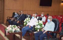 محافظ بورسعيد يتابع موقف تطبيق منظومة حصر الأصول العقارية بالمحافظة