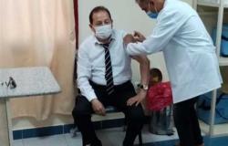 إقبال كبير من المواطنين على التطعيم بلقاح كورونا بشمال سيناء