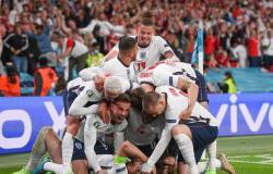 معركة ويمبلي.. إنجلترا تتجنب المفاجآت وتفوز على الدنمارك