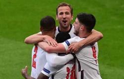 بث مباشر .. تشكيل انجلترا المتوقع أمام الدنمارك في يورو 2020