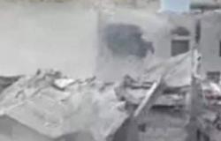 بالفيديو.. ميليشيا الحوثي تفجّر منزل مواطن بمحافظة البيضاء وسط اليمن