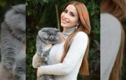 نسرين طافش تتصدر «جوجل» بعد نشرها صورا تجمعها بنجل شقيقتها «العملاق»
