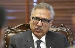 الرئيس الباكستاني يهنئ السعودية بنجاح موسم الحج